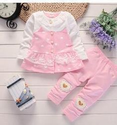 BibiCola baby girls clothing set baby girls clothes t-shirt + pants Sport suit cotton Toddler girl newborn clothing Newborn Fashion, Baby Girl Fashion, Toddler Fashion, Boys Clothes Style, Cute Baby Clothes, Girls Formal Dresses, Little Girl Dresses, Toddler Girl Outfits, Boy Outfits
