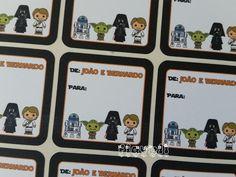 Etiqueta De/Para–Star Wars cute  :: flavoli.net - Papelaria Personalizada :: Contato: (21) 98-836-0113  vendas@flavoli.net