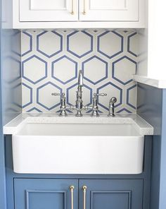 Image result for white hex floor tile laundry
