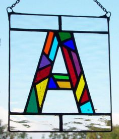 Stained Glass Letter by Neil Witney   ArtWanted.com