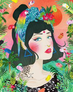 Lights out - Jessica Singh - illustrator