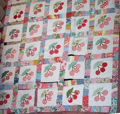 EQ Vintage Cherry Quilt | Flickr - Photo Sharing!