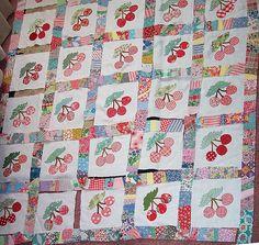 EQ Vintage Cherry Quilt | Flickr - Photo Sharing!