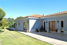 Mediterranean Homes Exterior, Greek Decor, Rural House, Outdoor Curtains, Modern Farmhouse Exterior, Spanish House, Love Home, House Floor Plans, Home And Living