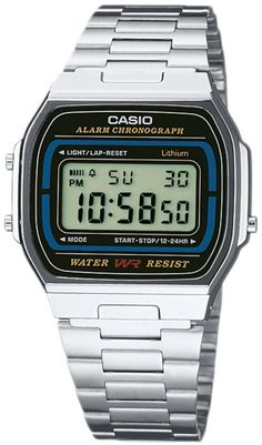 Armbanduhr von Casio @ ABOUT YOU http://www.aboutyou.de/p/casio/chronograph-casio-collection-a164wa-1ves-469606?utm_source=pinterest&utm_medium=social&utm_term=AY-Pin&utm_content=Streetstyles-Board&utm_campaign=2015-06-KW-26