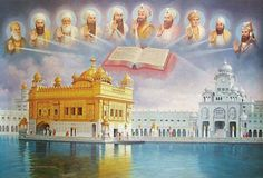 Golden Temple and 10 Guru's of Sikh Religion