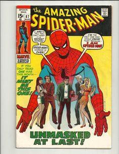 Amazing Spider-Man Cover: Spider-Man, Mary Jane, Gwen, Harry Osborn, and Peter Parker Posing Marvel Comics Poster - 30 x 46 cm Marvel Comics, Comics Spiderman, Marvel Comic Books, Comic Books Art, Comic Art, Spiderman Drawing, Amazing Spiderman, Amazing Spider Man Comic, Spiderman Classic