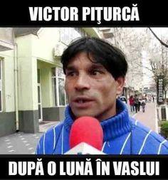 Victor Piturca, dupa o luna in Vaslui