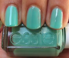 Turquoise and Caicos by Essie #Turquoise #manicure #nailpolish