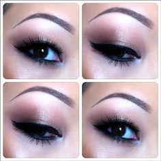 I have a very low crease like this woman and have to fake a higher one. Good example.