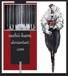 leather forest by Sashiiko-Anti on DeviantArt Fashion Design Portfolio, Fashion Design Drawings, Fashion Sketches, Fashion Illustration Dresses, Fashion Illustrations, Model Sketch, Fashion Figures, Fashion Sketchbook, Fashion Art