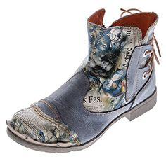 Damen Leder Stiefeletten Comfort Boots Knöchel Schuhe TMA 5116 Halbschuhe Gr. 36 - 42 - http://on-line-kaufen.de/tma/damen-leder-stiefeletten-comfort-boots-knoechel-2