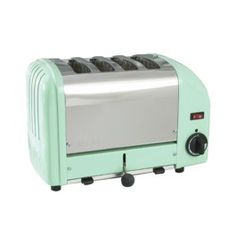 Find This Pin And More On Kitchen Dualit Classic Toaster In Mint Green 8 Colourful Kitchen Appliances