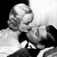 Carole Lombard and Clark Gable ♥