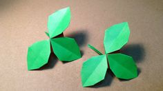 ORIGAMI LEAVES (ROSES)