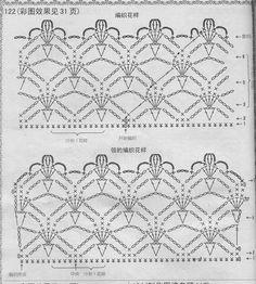 Risultati immagini per zazdrostki szydełkowe schematy