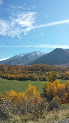 Utah. Payson Canyon in the fall. ~Julie