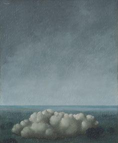 René Magritte - Song of the Storm, 1937 Le Chant de l'orage The Menil Collection, Houston Catalogue Raisonné: 448