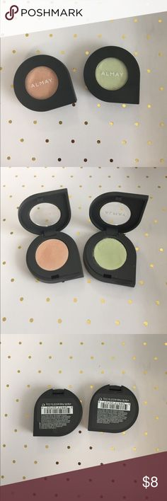 Almay Shadow Softies Gorgeous colors with an iridescent finish. Lightly used. Almay Makeup Eyeshadow
