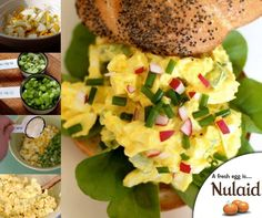 This classic egg salad is delicious and versatile. You can keep it plain and simple, or spice it up with an endless array of extras. For the full recipe, click here: http://ablog.link/4s8. Source: The Kitchn. #Nulaid