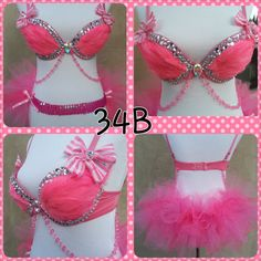 barbie inspired rave outfit by Euphorictreasures on Etsy, $80.00