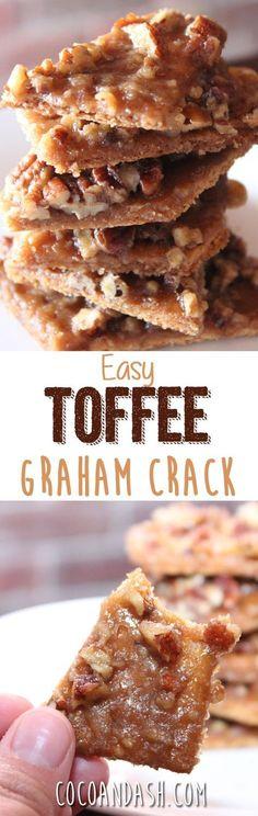 Toffee Graham Crack Bars