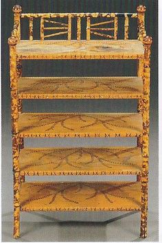 Bamboo… Late 19th Century Scorched Bamboo Style Sheet Music Stand
