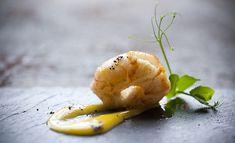 Keyte+-+Norway+Lobster+-+coffee+-+vanilla Recipe Details, Cauliflower, Vanilla, Vegetables, Coffee, Recipes, Plating, Food, Creative