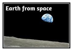 A set of 15 printables showing photographs of a range of different pictures of space. Excellent for discussion and as a display that will get the children talking about this topic in no time! Visit our TpT store for more information and for other classroom display resources by clicking on the provided links.