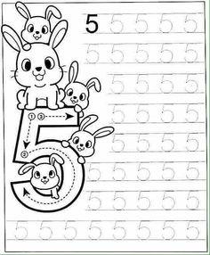 New System-Suitable Numbers Line Study - Preschool Children Akctivitiys Preschool Writing, Numbers Preschool, Learning Numbers, Preschool Printables, Preschool Lessons, Preschool Learning, Kindergarten Math Worksheets, Preschool Activities, Math For Kids