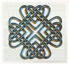Bronze Celtic Artwork - Celtic designs in bronze with patina