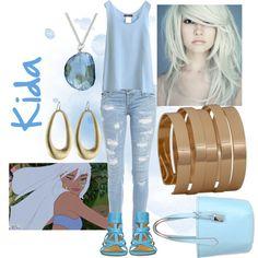 """Casual Disney Princess - Kida"" by jessica-felixrod on Polyvore"