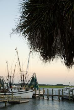 Beaufort, SC: How can you be anything but in love with a town that has these kinds of water views?