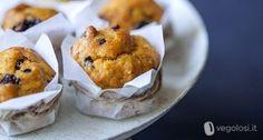 Muffin zucca rosmarino uvetta