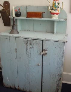 Give new life to an old piece of furniture.