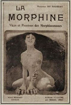 By the morphine was a popular anodyne, or soother. Morphine was also, however, a prime method of Victorian suicide. Morphine was six times as potent as opium. It was commercially available, and many upper and middle class patients purchased morphine
