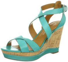 Amazon.com: Franco Sarto Women's Sophie Wedge Sandal: Shoes