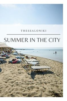 Crystal Clear Water, Thessaloniki, City, Beach, Summer, Outdoor, Outdoors, Summer Time, Seaside
