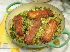 Prosciutto-Wrapped Halibut with Brussels Sprouts and Kale Couscous Recipe : Katie Lee : Food Network - FoodNetwork.com