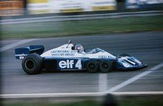Patrick Depailler (Great Britain 1977) by F1-history.deviantart.com on @deviantART