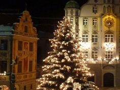 Christmas market in Memmingen
