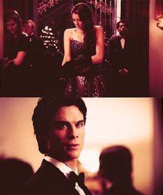 Damon and Elena. The way he looks at her!
