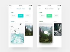 Sleeight: Natural background sound Page
