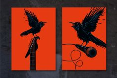 Live music. Raven by ne2pi on @creativemarket