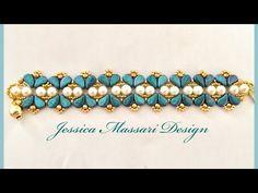 Bracciale Jasmine con perline Paisley Duo: design di Jessica Massari – Creare con le perline