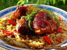 Romanian Food, Romanian Recipes, Main Meals, Cake Recipes, Good Food, Food And Drink, Ferrero Rocher, Beef, Food Cakes