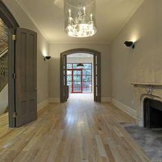 House trim ideas on pinterest dark wood trim interior for Interior trim and door color ideas