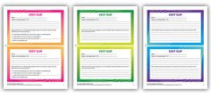 Get more out of exit slips: What Marzano's research tells us... Includes a link to FREE exit slip download!
