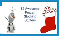 86 of the Best Frozen Stocking Stuffer Christmas Gifts for any Frozen Fan at Any Aage www.inspiringnhkids.com
