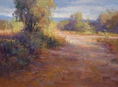 approaching_storm by Richard McKinley Oil ~ 12 x 16